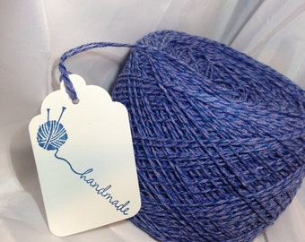 Bakers Twine -Blueberry Pie - Hand Dyed - Purplish Blue on Blue - Your Choice of Amount
