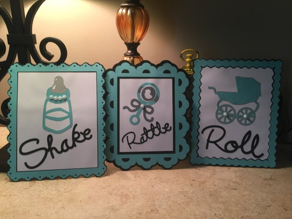 Shake Rattle And Roll Theme Baby Shower