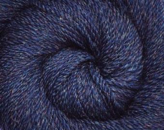 Handspun yarn - Merino wool / nylon yarn, Worsted weight - 390 yards - Rainbow Stars 2