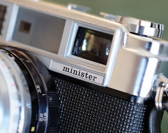 Classic Working Yashica Minister II Vintage Camera