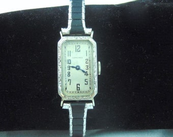 Art Deco 1926  Longine 14K GF Ladies Wrist Watch, Manual Wind, Free Shipping Canada & US