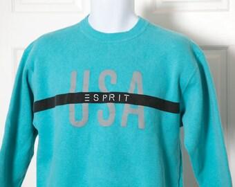 Vintage ESPIRIT USA Sweatshirt - S/M