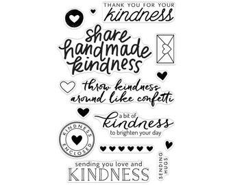 Hero Arts Clear Rubber Stamp Set - Acts of Kindness