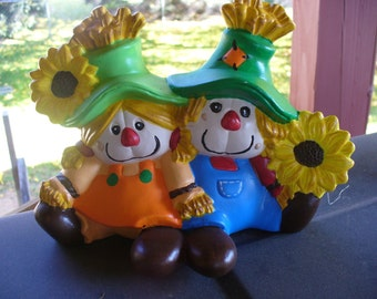 Scarecrown Couple