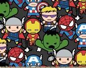 Marvel Kawaii Avengers Fabric from Springs Creative