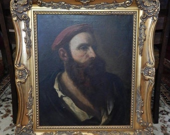 Sale Antique French Old Master Portrait Painting European Museum Art ESTATE FIND Collector's Piece