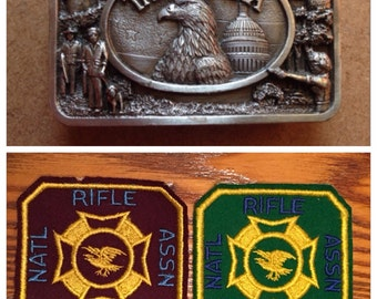 Vintage NRA Patches