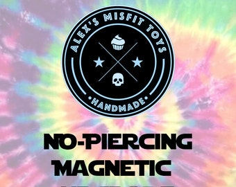 Magnetic Earring Upgrade for Ears Without Piercings