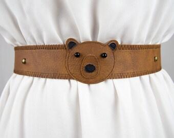 Bear Belt ~ Handmade ~ Only 1 Left!