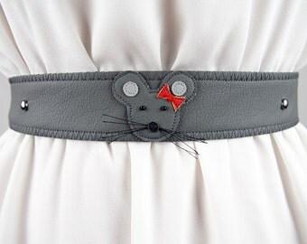 Female Mouse Belt ~ Handmade ~ Only 1 Left!