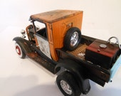 Scale Model ,Ford  Truck, Rusted Wreck, Classicwrecks Car