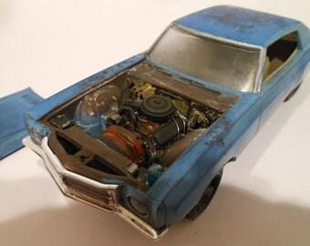 Scale Model Classicwrecks Car Ace Ventura Monte Carlo