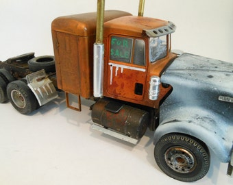 Classicwrecks, Scale Mode,l Rusted and Wrecked, Kenworth Truck