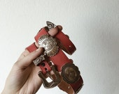 Red Concho Belt