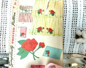 Retro Curtain Pattern by Simplicity - Vintage Easy-to-Make Sewing Tutorial, Home Decor Pattern, Cafe Curtain /Window Panel / Curtain Pattern