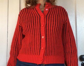 Vintage Sweater  Cardigan Pendleton 80s Women's M/L