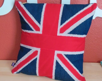 Patriotic Pillow Cover UK or USA