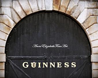Ireland Photography, Dublin Wall Art Guinness, Pub Decor, Irish Bar, Dublin Door Art, Irish Kitchen, Streets of Dublin, St. James Gate, Beer