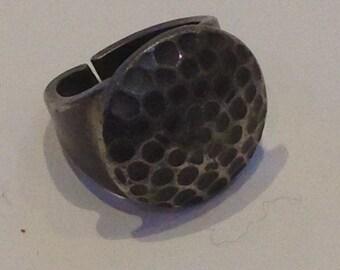 Georg Jensen Pewter Ring