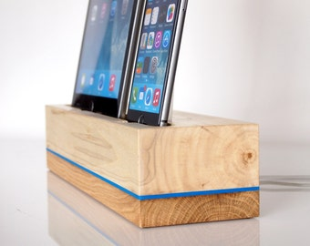iPhone / iPad Docking Station / iPhone and iPad Charging Station - iPad Pro / iPad Air / iPad Air 2 Dock - Unique Gift