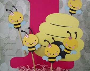 Bumble Bee Centerpiece Inserts - Bucket not available