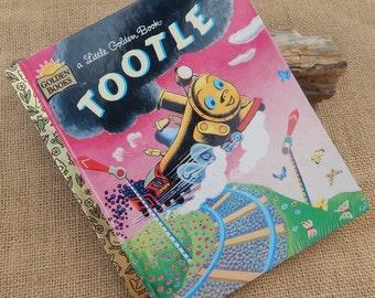 3.00 Sale  ~  Tootle  ~  Little Golden Book