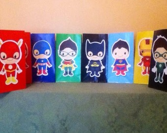 Cute Superhero Goody Bags