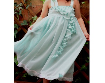 Custom Made flower Girl dress summer Party dress children made your color
