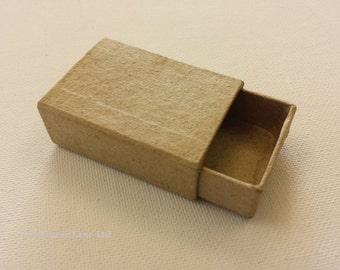 Small Match Box - Plain Cardboard Matchbox - Mini Craft Decorate Present Gift