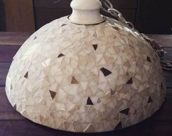 Vintage Mosaic Pendant Lamp Cover no wiring included
