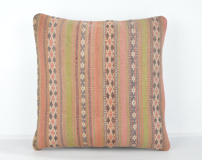 Decorative Pillows, KP753, Designer Pillows, Kilim pillow, Bohemian Decor, Wool Pillow,  Bohemian Pillow, Accent Pillows, Throw Pillows