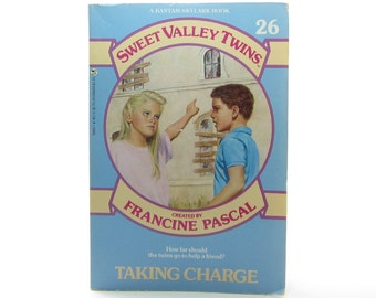 Sweet Valley Twins Taking Charge Book Vintage 1989 Francine Pascal Young Adult Paperback