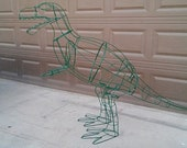T Rex Dinosaur Topiary Form