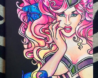 Adore Delano Canvas Painting