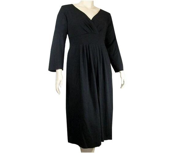 Womens Empire Waist Dress -Custom Sleeve Length, Size&Color-Choice of Hand Dyed Bamboo/Organic Cotton or Beechtree Jersey-XXS thru Large