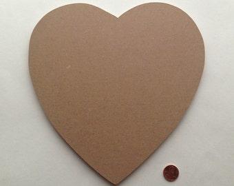 "Mosaic Base Form Heart 1/4"" MDF"