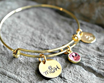Maid of Honor Bracelet - Maid of Honor Gift -Matron of Honor Bracelet - Matron of Honor Gift - Bridesmaid Gift - Bridesmaid Bracelet