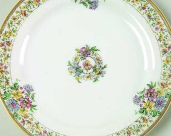 Salad Plate Haviland Narcissus