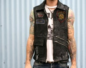 Recycled Leather Vest