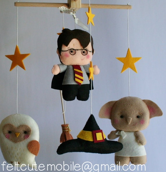 harry potter mobile babybett mobile harry potter nursery. Black Bedroom Furniture Sets. Home Design Ideas