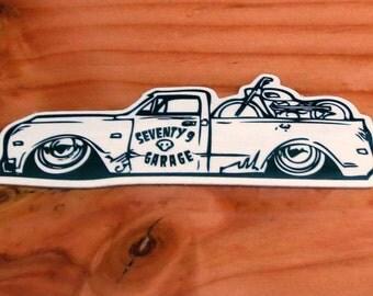 Ultimate Shop Truck Sticker! Tool Box Sticker man cave art