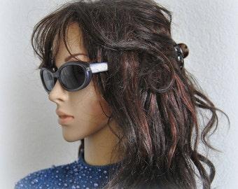 Vintage DIOR Sunglasses, Cat-eye Sunnies, Designer Accessories, Unique Women Shades, Purple, Optyl frame, Lunettes de soleil, Gifts for her