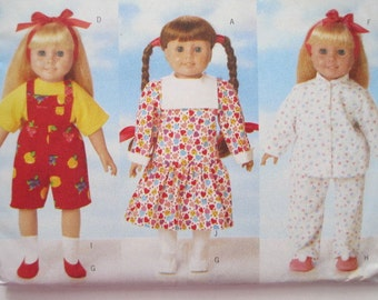 Butterick 5295 -Sewing Pattern to make 18 Inch Doll Clothes