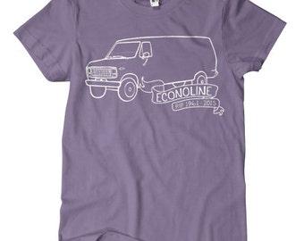 Econoline Tour Van T-shirts