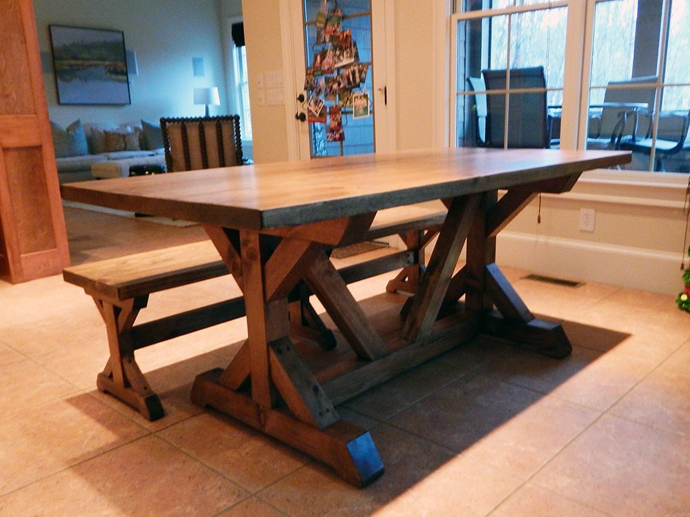 images of rustic dining tables custom farmhouse dining table