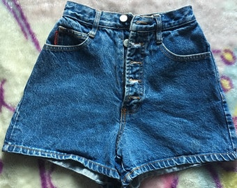 High waisted shorts size 0