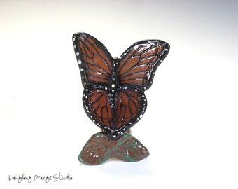 Monarch Butterfly Chair for Fairy Garden