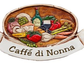 Italian Nonna Kitchen Sign