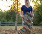 Large New Jersey scrap wood cutout