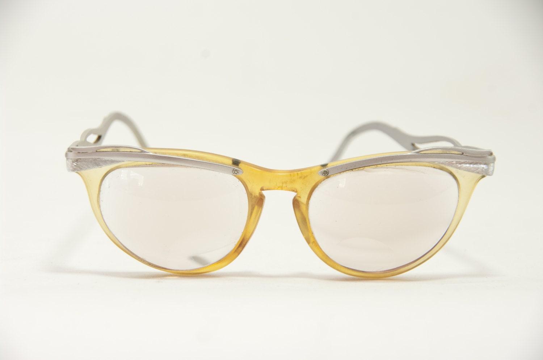 Vintage U/Z Cat Eye Eyeglass Frames, Vintage Cat Eye Glasses, 5 1/2 ...